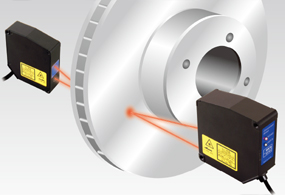 Measurement of brake disc thickness